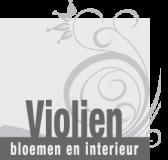 Violien bloemen en interieur